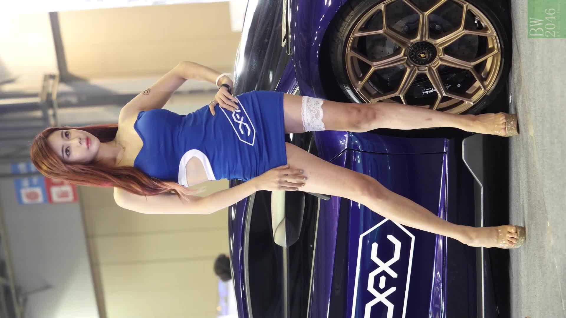 오토살롱위크 2019 | AUTO SALON X AUTOWEEK 2019 - 김하율 Kim Hayul, Racing Model #58 (Mobile Version)