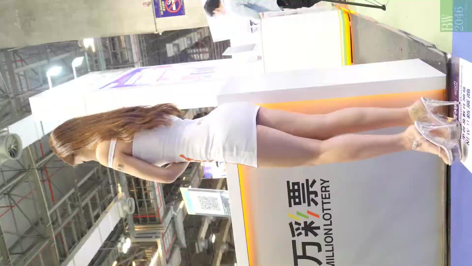 亞洲國際娛樂展 G2E Asia 2019  -  Model #12 王凱莉 Kelly Wong / 汪汪 (Weibo : Wonwonwong) @  (Mobile Version)