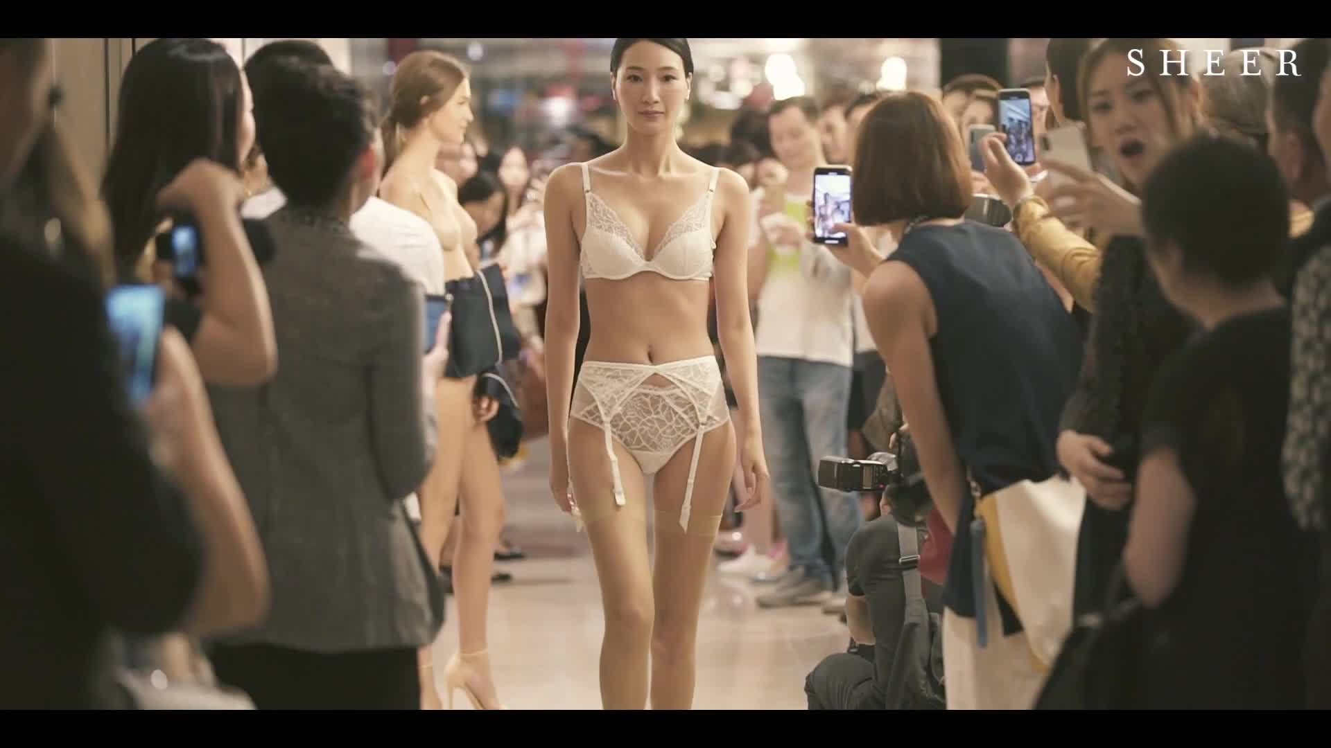 SHEER 'Modern Muse' Lingerie Fashion Show 2019