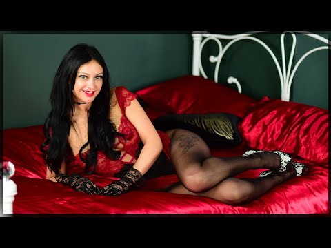 Valentine Special Pantyhose Review With Cassie Clarke In A Red Lace Bodysuit