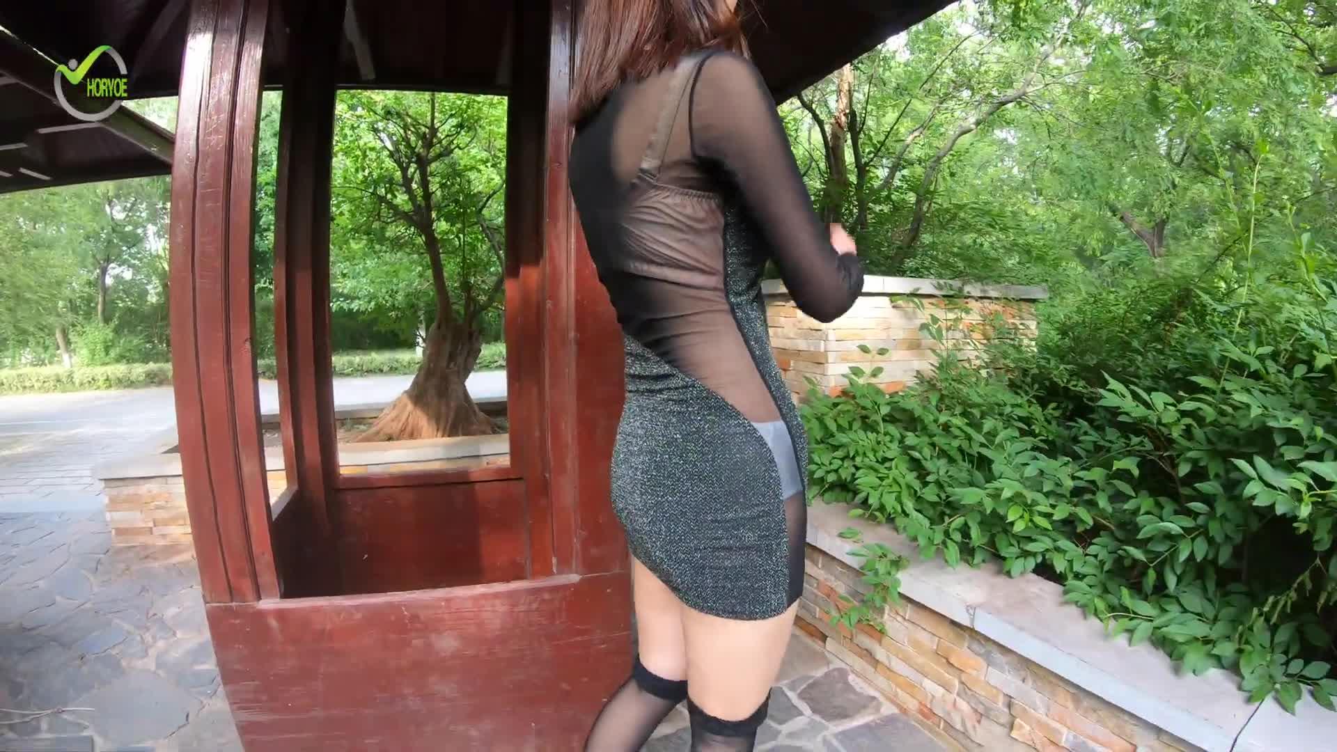 [4K] [中集]Beautiful Chinese Girls & Short skirt 街拍 透视 短裙女生 YC MJH006 Mejores Videos  Viable Fashi