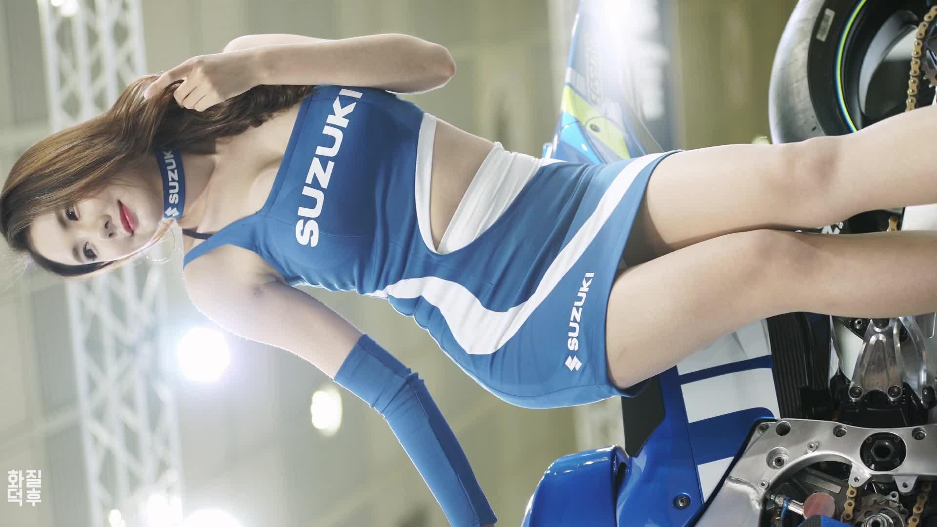 4K 민유린 Min Yurin #12 Horizontal Fancam 2018 모터사이클쇼 by 화질덕후 4kOTAKU