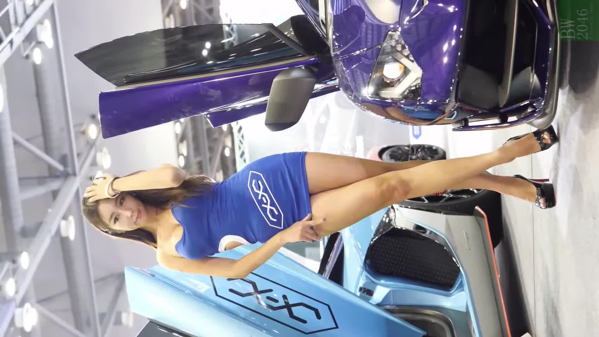 오토살롱위크 2019 | AUTO SALON X AUTOWEEK 2019 - 김다온 Kim Da On, Racing Model #50 (Mobile Version)