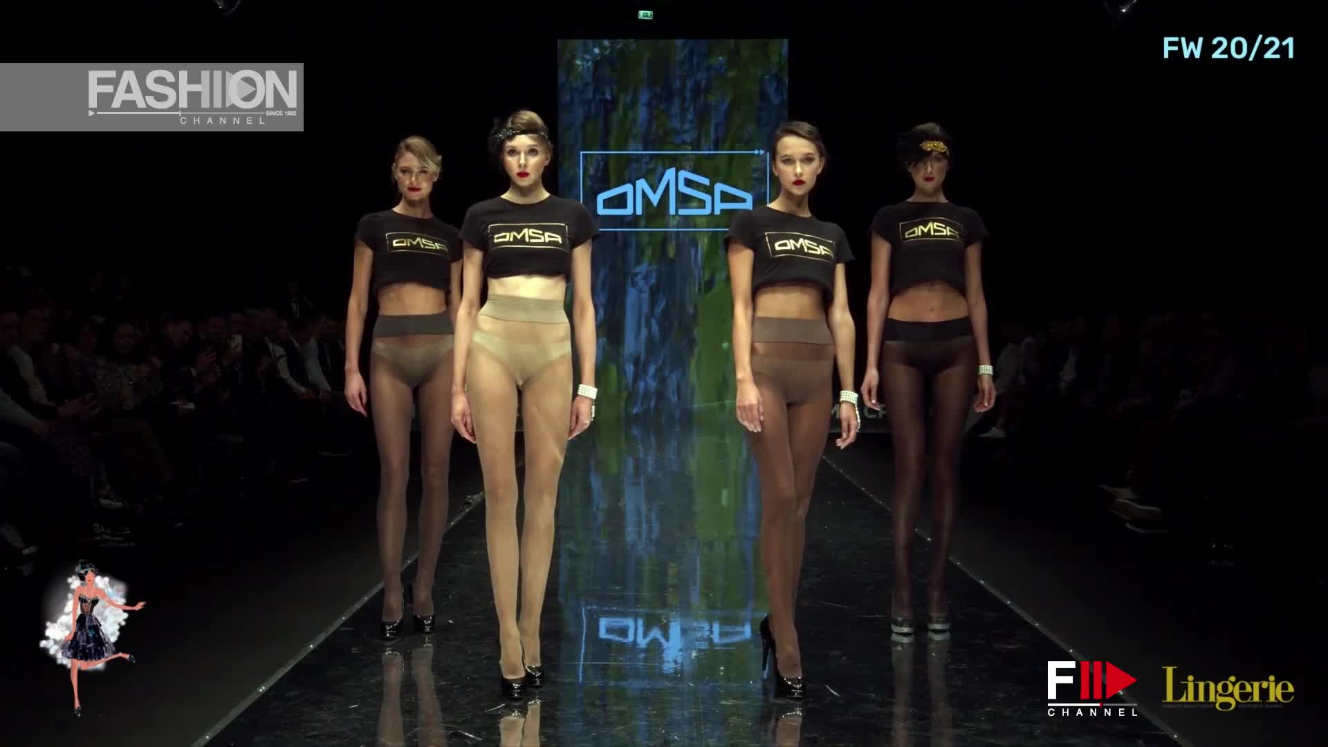 OMSA - GRAND DEFILE Lingerie Magazine Fall 2020 CPM Moscow - Fashion Channel