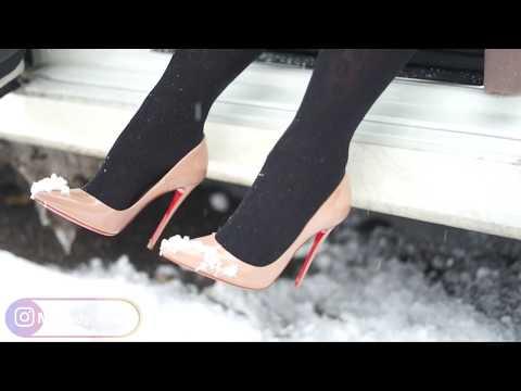 Christian Louboutin So Kate 120MM | Winter Dangle - Accelerate Car Warm Up | MyLadyMarie