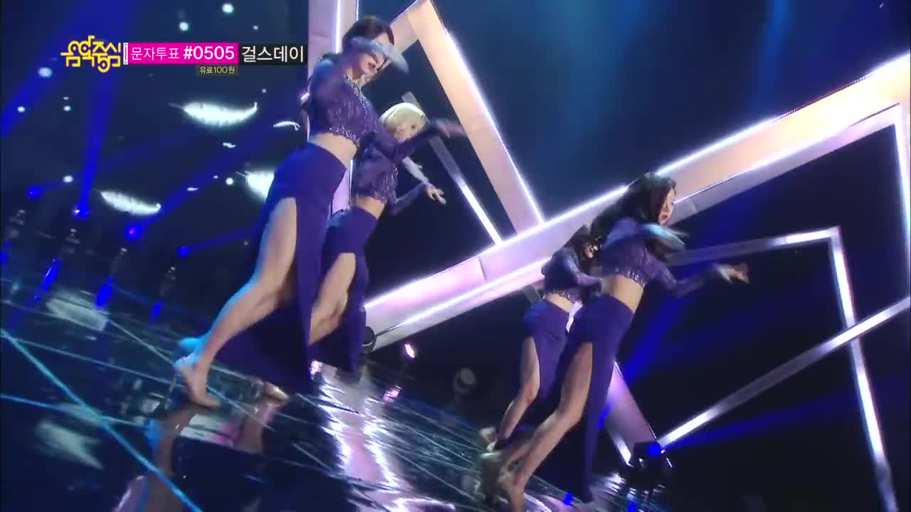 【TVPP】Girl's Day - Something, 걸스데이 - 썸씽 @ Nominated rank 1st, MusicCore Live